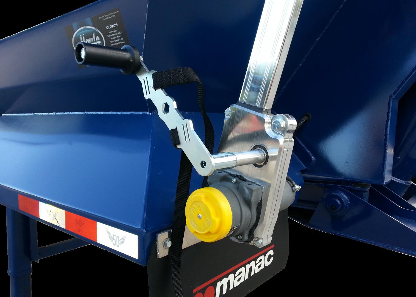 Système de toile Slider électrique débrayable - Electric disengageable Slider Tarp System