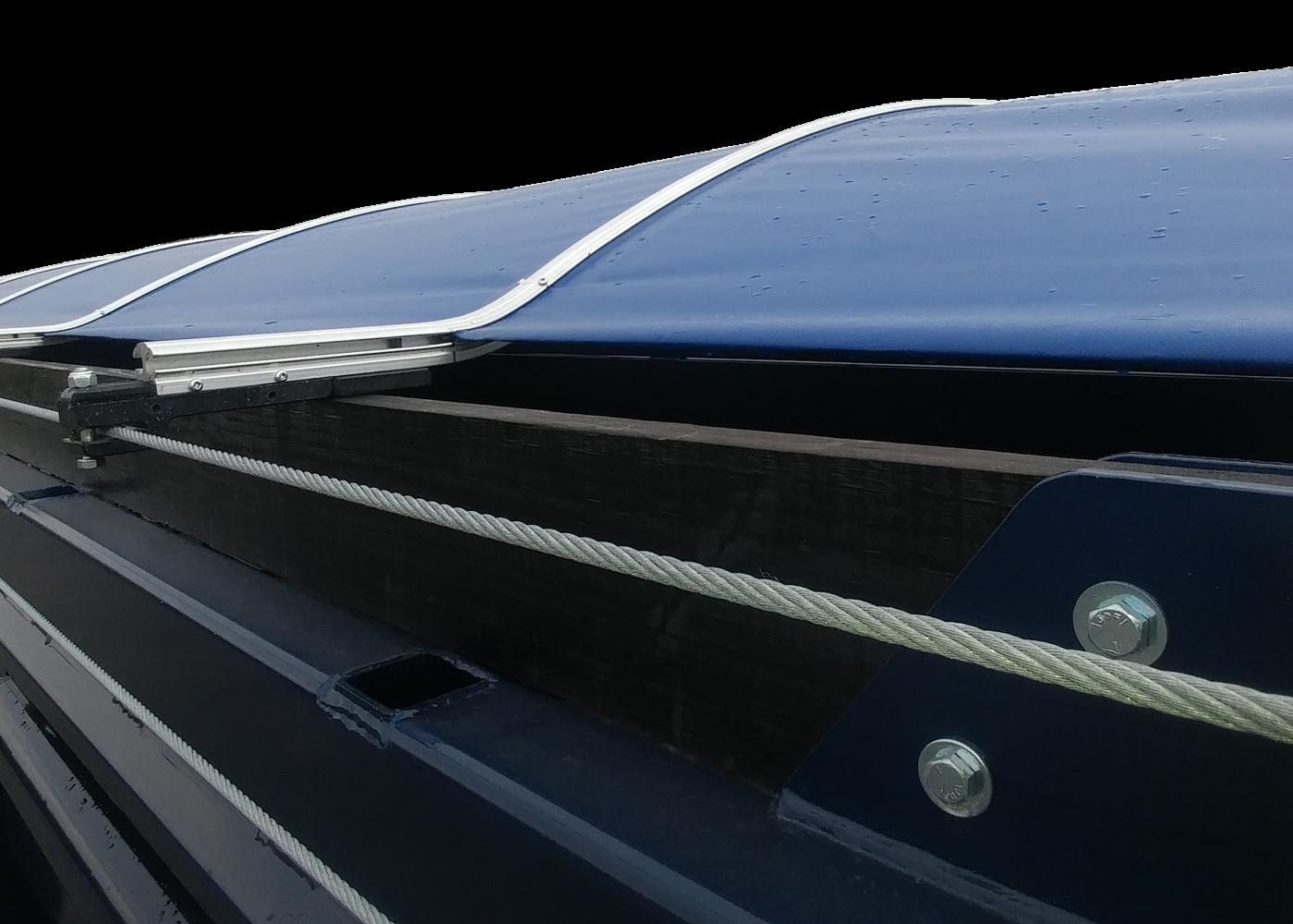Système de toile Slider manuel - Manual Slider Tarp System